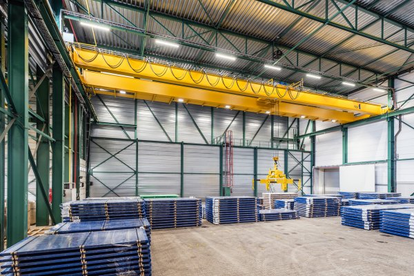 Turnkey projects_Steelworks_Cranes_Roba