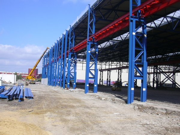 Turnkey projects_Steelworks_Cranes_Arcelor Mittal